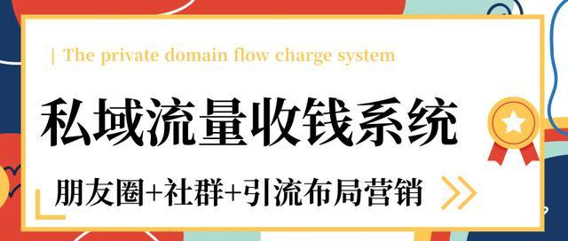 私域流量收钱系统课程(朋友圈+社群+引流布局营销)12节课完结插图
