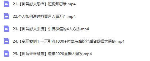 抖金必火学院52节抖音变现魔法课,0成本启动自己的抖音矩阵,实现月入10W+插图(3)